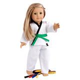 Conjunto De Yin Y Yang - Karate / Tae Kwon Do Incluye Blu...
