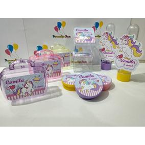 Kit-festa Personalizado Tema Unicórnio (120 Itens)