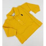 Camisa Polo Ralph Lauren Menino Kids Bebê 9 Meses Original