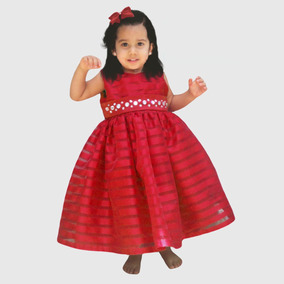 Vestido Fiesta Bautizo Niña Bebe Talla 0 1 2 4 6