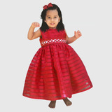 Vestido Fiesta Bautizo Niña Bebe Talla 0 1 2 4 6 Desde 80