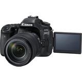 Cámara Canon Reflex Eos 80d + Lente Ef-s 18-135 Is Usm Nueva
