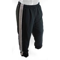 Pantalon Adidas Climalite Negro Blanco