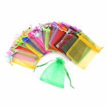 Bolsitas Tul Organza Colores 13x18cm 10 Unidades Souvenirs