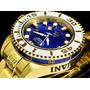 Relógio Invicta Diver 300metros Automático Gold Original.