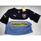Rara Camisa Botafogo Puma Treino Oficial 2014 2015 Nova