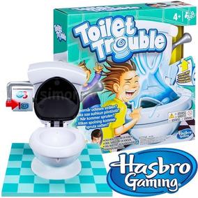 Baño Loco Juego De Mesa Inodoro Original Hasbro C0447
