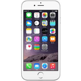 Iphone 6 16gb Prata Mt Bom Seminovo C/ Garantia E Nf
