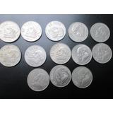Lote Monedas De 1 Peso Jose Maria Morelos Y Pavon Nickel