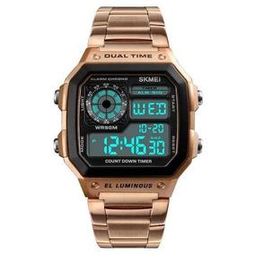 d23904cf5cd Casio A159wgea 1ef Gold - Relógio Masculino no Mercado Livre Brasil