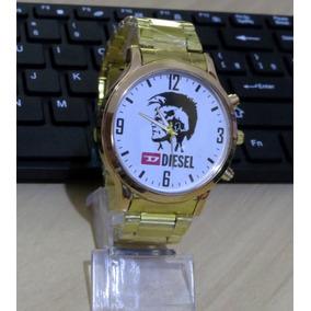 209555217c8 Bronze Luxo Relogio Bvlgari H. De Ferro Branco - Relógios De Pulso ...