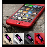 Case 360+mica De Vidrio-seguridad 100% Iphone 5/5s/6/6s/7