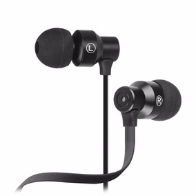 Audífonos Negro Con Micrófono- Alámbrico 3.5 Mm Sale % Off