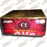 Fuegos Artificiales - Torta Alfa 100 Tiros Punto Austral Ex.