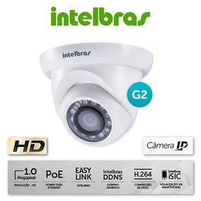 Câmera Ip Intelbras Vip S4020 Ir 20m Dome 1mp 2.8mm G2 Poe