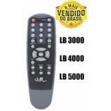 Controle Remoto Receptor Lb Sat Lb 3000 - Lb 4000 - Lb 5000