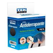Fita Antiderrapante Lixa Autoadesiva Preto 50x5m Piso