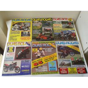 Revista 2 Duas Rodas Antigas Ano 1984 - Lote