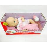 Little Mommy Bebita Recien Nacida Mameluco Rayas 30cm Mattel