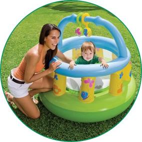 Chiqueirinho E Cercadinho Bebês Pula-pula Inflável Intex