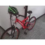 Se Vende Bicicleta Super Pro + Casco Y Inflador Como Nuevos
