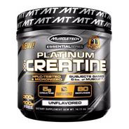 Creatina Platinum 400 Gramos Micronizada Muscletech