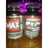 Nitric Max Muscle & Anabolic Rx24