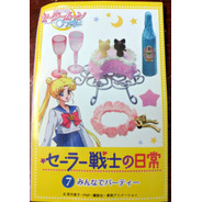 Re-ment Sailor Moon Daily Life Barbie Pullip Dal Accesorios