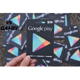 Gift Card Google Play Br - R$100,00