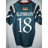 #18 Jurgen Klinsmann Alemania adidas Eurocopa 1996 Talle Xl