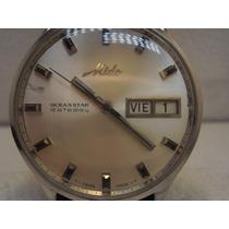 Reloj Mido Ocean Star Dataday Automatico Suizo De Correa