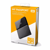 My Passport Disco Duro Extraible Portátil 4tb Negro