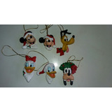 Enfeite Para Arvore De Natal Disney Kit Com 6 Veja Descrição