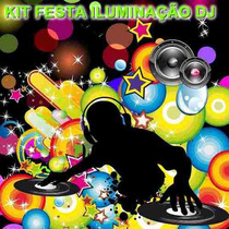 Kit Festa 2 Projetor Laser Holográfico Luzes Pronta Entrega