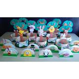 25 Golosineros, 7 Centros De Mesa, 7 Servilleteros,1 Piñata