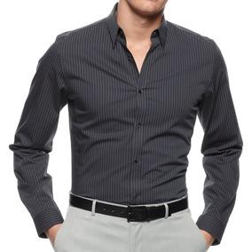 631e9131da5d6 Camisa Social Masculina Calvin - Calçados, Roupas e Bolsas no ...