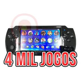 Mini Game Nova Portátil 4.000 Jogos Player Mp3 Mp4 Mp5