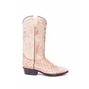 Bota Caballero Rancho Orix Boots Grabado Avestruz 010902012
