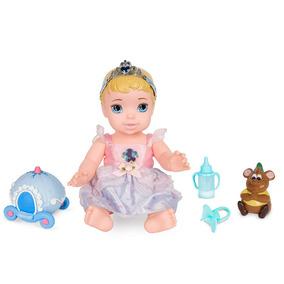 Boneca Baby Com Acessórios - Princesas Disney - Cinderela -