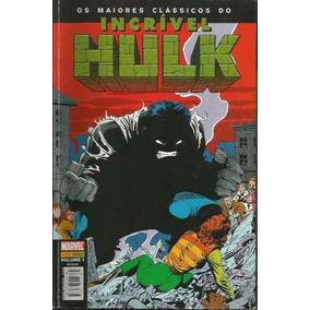 Os Maiores Clássicos Do Hulk 1 Novo Panini 2004