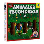 Animales Escondidos Loteria Infantil Original Ruibal