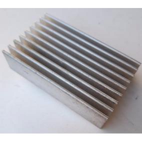 Disipador De Calor De Aluminio 60mm X 34mm X 16mm