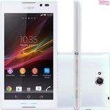 Smartphone Sony Xperia C C2304 Desbloqueado Branco Vitrine