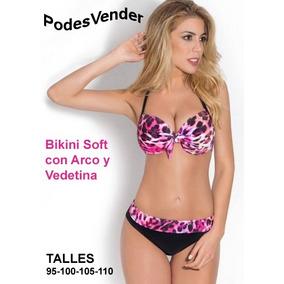 Bikini Armada Soft + Short Culote Talles Grandes Especiales