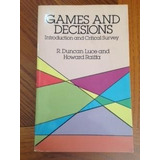Libro Games And Decisions, Introduction And Critical Survey