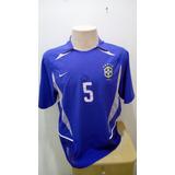 Camisa Brasil Azul Emerson Copa Das Confederações França