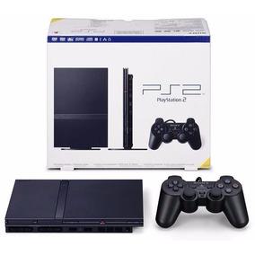 Playstation 2 Slim Consola Nueva + Control + Cables Ps2