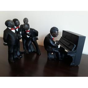 Caixa De Música Pianista Cantores All That Jazz Enesco 1990