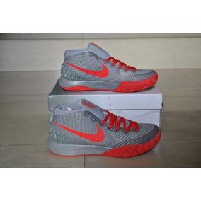 Kp3 Botas Deportivas Nike Kyrie Irving 1 Gris Rojo 36 Al 40