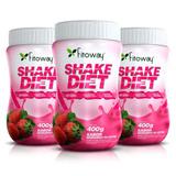 Kit 3 Shake Diet Fitoway - Escolha O Sabor 400g Emagrecedor